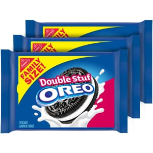 Oreo Double Stuf Chocolate Sandwich Cookies 3-Pack for $8.15 via Sub & Save