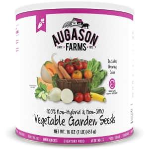 Augason 1-lb. Vegetable Garden Seeds for $44