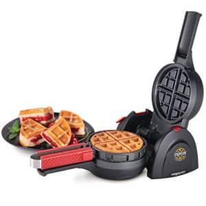 """Presto Stuffler 5"""" 900W Stuffed Belgian Waffle Maker for $50"""