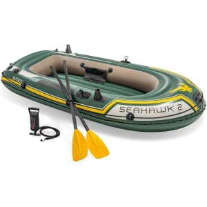 Intex Seahawk 2 2-Person Inflatable Boat Set for $68