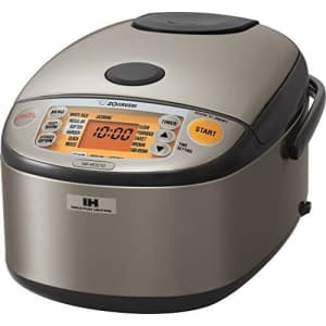 Zojirushi Induction Heating System Rice Cooker and Warmer for $272