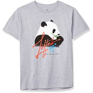 LRG Men's Crew Neck Short Sleeve T-Shirt, Ath Heather, XXX-Large for $22