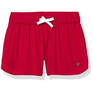 Roxy girls Una Mattina Beach Casual Shorts, Poppy Red 212, 14 US for $25