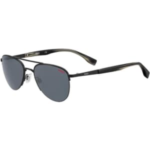 Hugo by Hugo Boss Stylized Aviator Sunglasses for $35