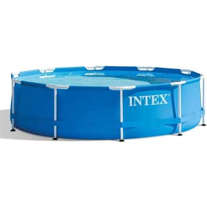 """Intex 10-Ft. x 30"""" Above Ground Swimming Pool for $356"""