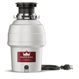 Waste King Legend 3/4-HP Garbage Disposal for $102