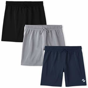 The Children's Place Boys Basketball Shorts 3-Pack, Multi CLR, X-Large for $12