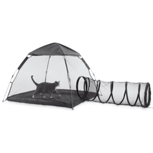 EveryYay Come Out & Play Outdoor Cat Lounge w/ Tent for $70 w/ padding