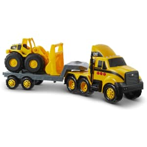 CAT Construction Heavy Mover Semi Truck and Loader for $20