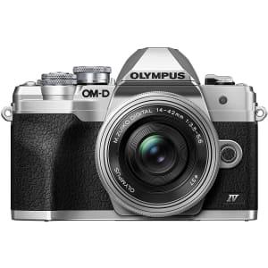 Olympus OM-D E-M10 Mark IV Digital Camera w/ 14-42mm Lens for $799
