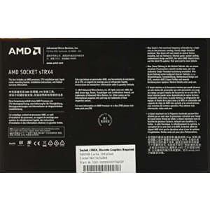 AMD Ryzen Threadripper 3970X 32-Core, 64-Thread Unlocked Desktop Processor, without Cooler for $2,060