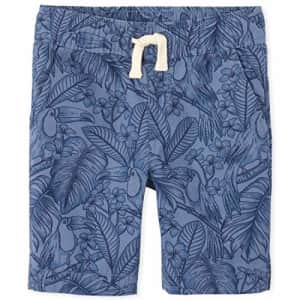 The Children's Place Boys' Palm Pull On Jogger Shorts, Hudson Bay, 12 for $14