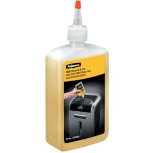 Fellowes Powershred Performance Oil 12 oz. Bottle for $7