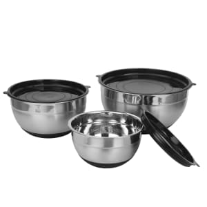 StyleWell 3-Piece Mixing Bowl Set w/ Lids for $15