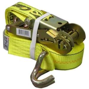 "CargoLoc 2"" x 27-Ft. Ratchet Tie Down for $15"