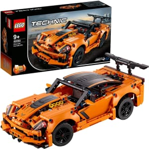 LEGO Technic Chevrolet Corvette ZR1 Building Kit for $50