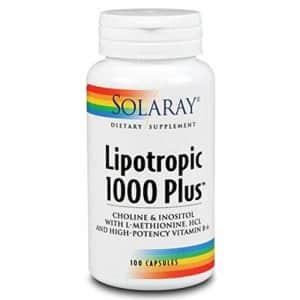 Solaray Lipotropic 1000 Plus Vitamin Capsules   100 Count for $18