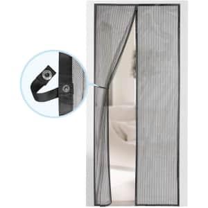 Augo Magnetic Screen Door for $16