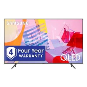 "Samsung Q6DT-Series QN82Q6DTAFXZA 82"" 4K HDR QLED UHD Smart TV (2020) for $1,598 for members"