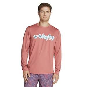 Speedo Men's Uv Swim Shirt Graphic Long Sleeve Tee for $42
