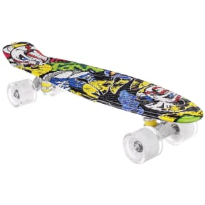 """22"""" Skateboard with LED Wheels for $23"""