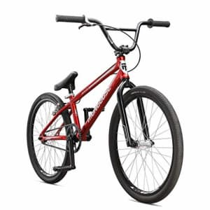 Mongoose Title 24 BMX Race Bike with 24-Inch Wheels in Red for Beginner or Returning Riders, for $705
