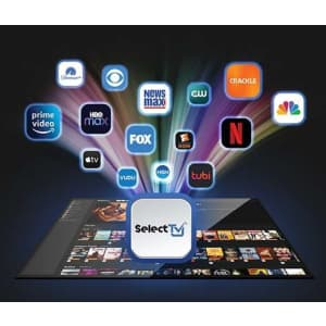 SelectTV Streaming App Lifetime Subscription: $80