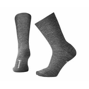 Smartwool Women's Cable II Socks,Medium Gray,Medium B(M) US for $18