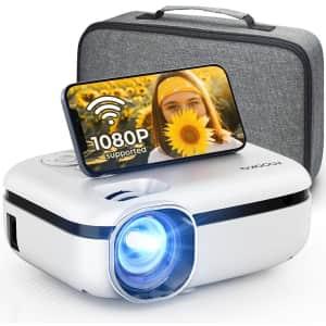 Mooka WiFi Mini LCD Projector for $128