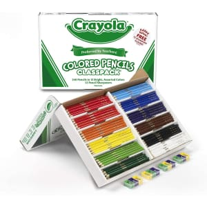 Crayola 240-Count Colored Pencils Classpack for $33