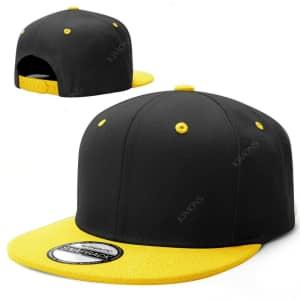 Men's Snapback Cap: 3 for $16
