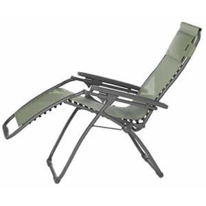 Lafuma Futura Zero Gravity Patio Recliner (Moss Green Batyline Canvas) Outdoor Folding Lounge Chair for $240