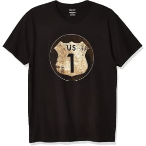 Hanes Men's Graphic Vintage Cali Collection T-Shirt for $5