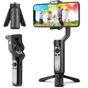 Hohem iSteady X 3-Axis Gimbal Stabilizer for Smartphone for $79