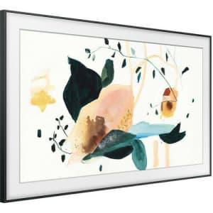 """Samsung The Frame 55"""" 4K HDR QLED UHD Smart TV (2020) for $1,194"""