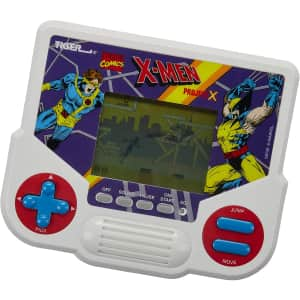 Hasbro Tiger Electronics Marvel X-Men Project X Handheld Video Game for $13