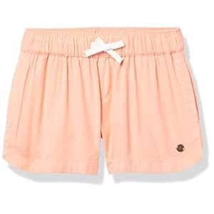 Roxy girls Una Mattina Beach Casual Shorts, Peach Pearl 212, 14 US for $23