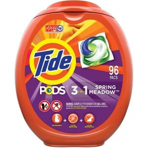 Tide PODS 92-Count Laundry Detergent Liquid Pacs for $21