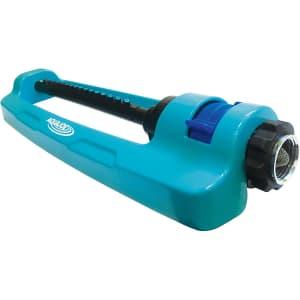 Aqua Joe 3,600-Sq. Ft. Indestructible Metal Base Oscillating Sprinkler for $17