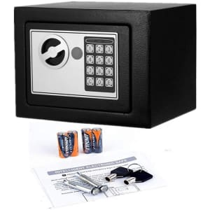 Flyerstoy Digital Electronic Fireproof Safe for $44