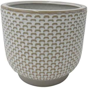 Stone & Beam Medium Stoneware Planter for $15