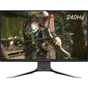 """Alienware 25"""" 1080p IPS LED Gaming Monitor for $380 + $125 Dell Gift Card"""
