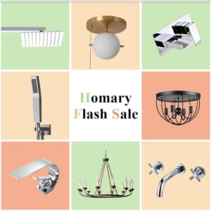 Homary Flash Sale: Up to 35% off