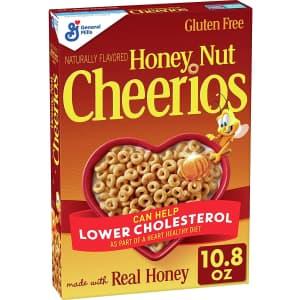 Honey Nut Cheerios 10.8-oz. Cereal for $1.79 via Sub & Save