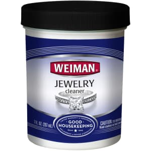 Weiman Jewelry Cleaner 7-oz. Tub for $3.52 via Sub & Save