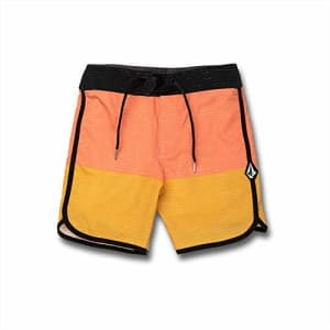 Volcom Boys' LIDO Scallop MOD, Mineral Yellow, 24 for $38