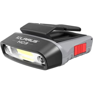 Klarus Clip-On LED Visor Light for $22
