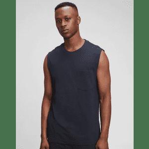 Gap Men's 100% Organic Muscle T-Shirt for $8