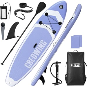 Crewyn Inflatable Stand Up Paddle Board Bundle for $330