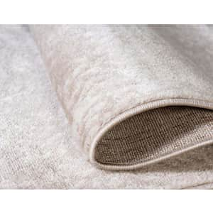"""Unique Loom Sofia Collection Traditional Vintage Area Rug, 3' 3"""" x 5' 3"""", Tan/Ivory for $35"""